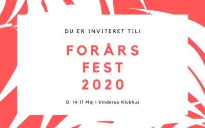 Forsårsfest 2020 – Sæt kryds!